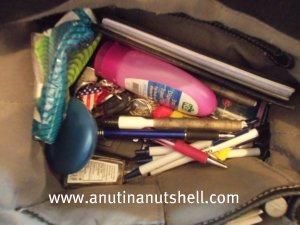 Disorganized purse
