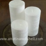 GloLite textured candles