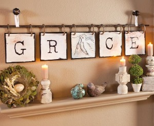 DaySpring Grace Tiles Review | Christian Home Decor | Christian Gifts
