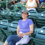 Me at baseball game