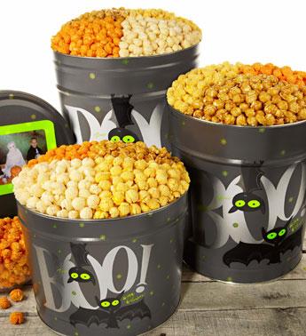 Popcorn Factory Halloween popcorn tins