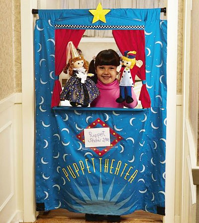 Hearth Song Doorway Puppet Theater
