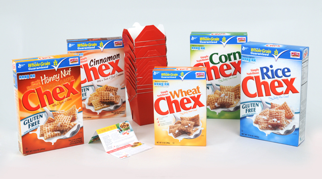 Chex Mix prize pack