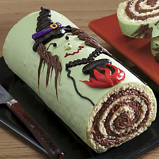 Witch cake log