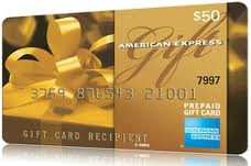 American Express $50 Gift Card