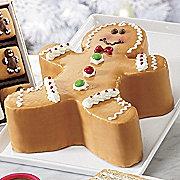 gingerbread boy cake