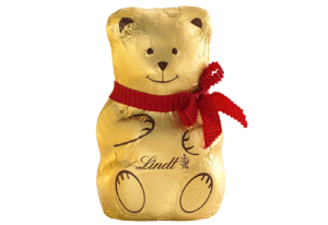 Lindt chocolate bear
