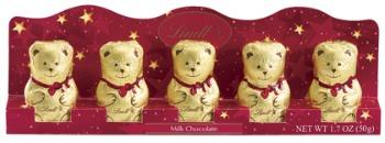 Lindt Bear mini 5-pk