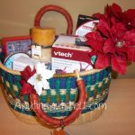 V-tech holiday gift basket