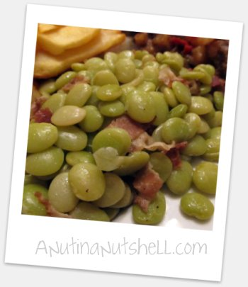 country-style lima beans