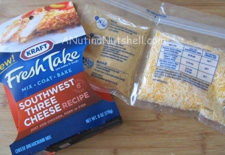 Kraft Fresh Take Southwest Three Cheese