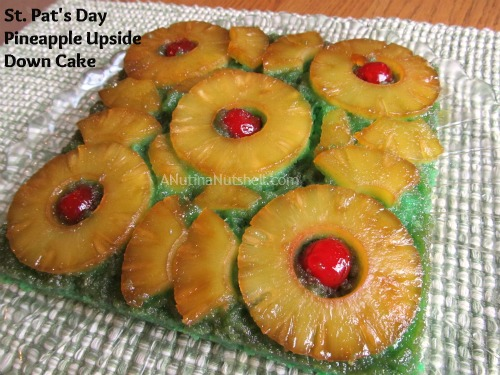 pineapple lime upside down cake