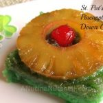 St. Patrick's Day Pineapple Lime Upside Down Cake