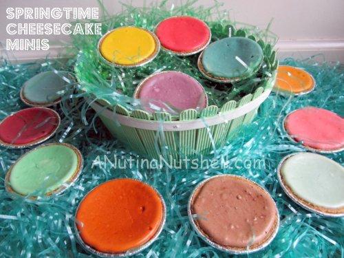 Springtime-Easter-mini-cheesecakes