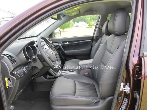 Kia-Sorento-driver-seat
