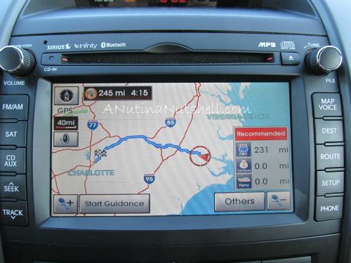 Kia-Sorento-navigation-system