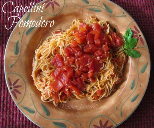 Capellini Pomodoro Archives Eat Move Make