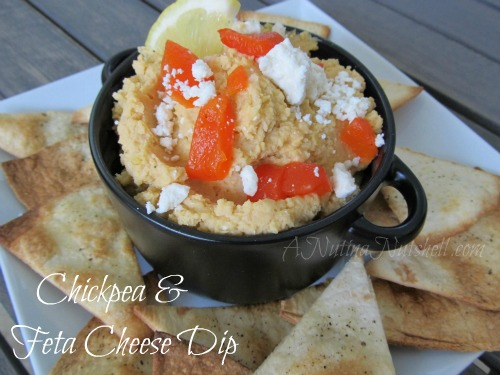 Chickpea-Feta-Cheese-Dip