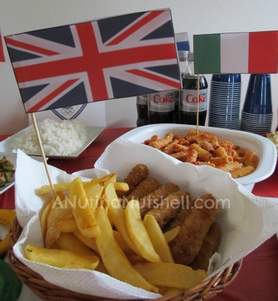 Olympics-party-Great-Britain-food
