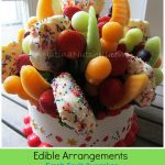 Edible Arrangements Fresh Fruit Confetti Cupcakes + Giveaway