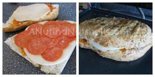 Pepperoni Panini – I used Focaccia bread, Hormel Pepperoni ...