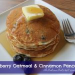 Best Ever Blueberry Oatmeal & Cinnamon Pancakes #YayOats