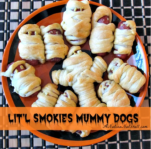 Easy Halloween Party Food Lit L Smokies Mummy Dogs From