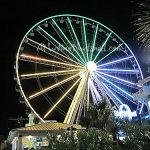 Myrtle-Beach-SkyWheel-at-night