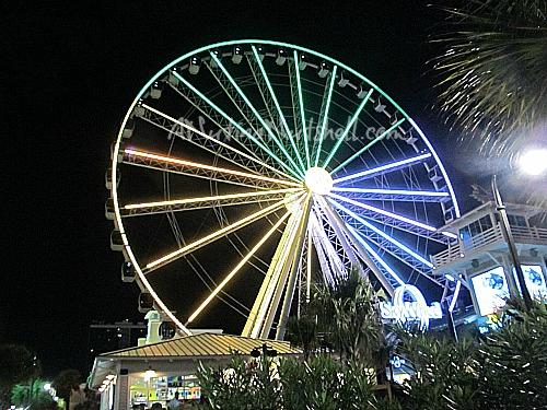 Myrtle-Beach-SkyWheel-at-night
