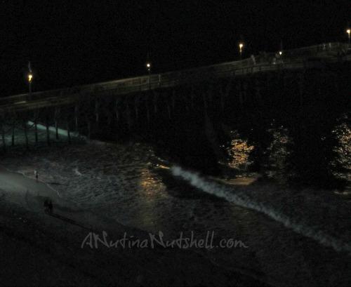 Myrtle-Beach-skywheel-view-of-beach-at-night