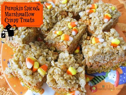 Pumpkin-Spiced-Marshmallow-Crispy-Treats
