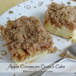 Apple Cinnamon Crumb Cake with #DominoLight