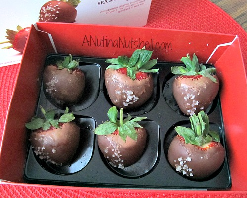 Fannie May Salted Caramel Chocolate Dipped Strawberries + Giveaway ...