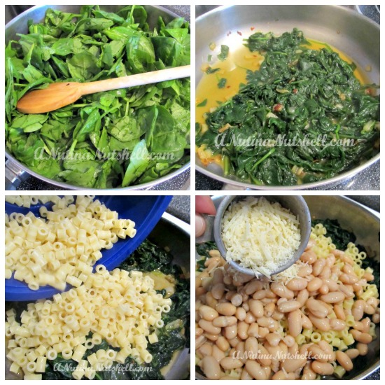 Savory-White-Beans-Spinach-dinner