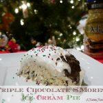Triple-Chocolate-Smores-Ice-Cream-Pie