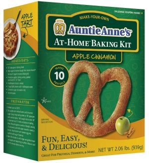 Auntie Anne's Soft Pretzels - Apple Cinnamon At-Home Baking Kit ...