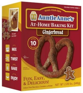 Auntie Anne's At Home Baking Kit Gingerbread