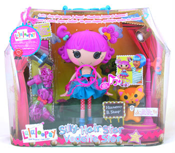 Harmony B Sharp singing Lalaloopsy doll