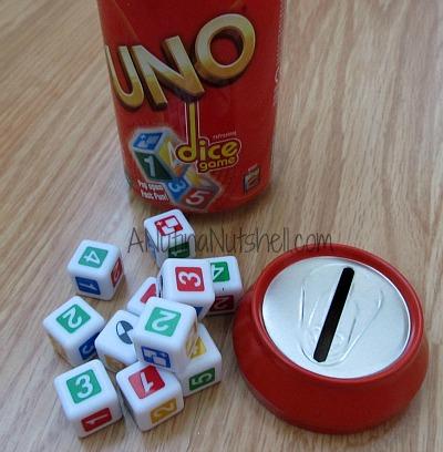 Uno Dice Game