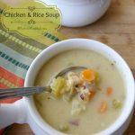 Creamy Chicken & Rice Soup