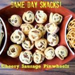Sausage Pinwheel Bites w/ Jimmy Dean Hearty Sausage Crumbles