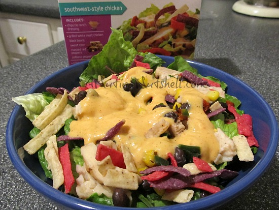 Lean Cuisine  Salad Additions Southwest-style Chicken