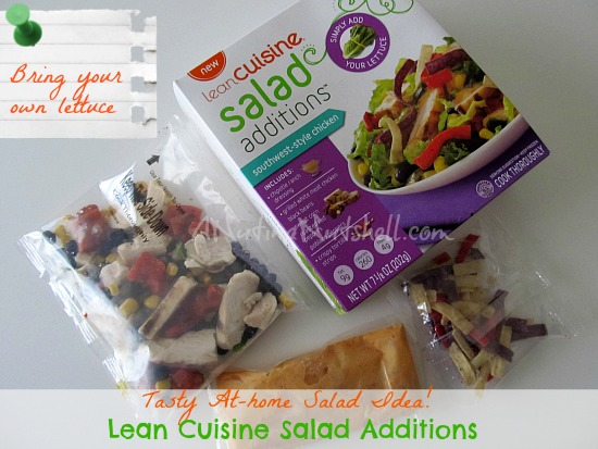 Lean Cuisine salad additions healthy lunch