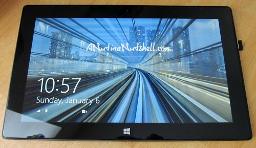 MS Surface RT Tablet