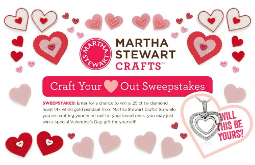 Martha Steward Crafts- Craft Your Heart Out Sweeps