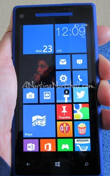 windows phone customized start screen