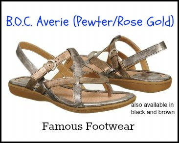 B.O.C. Averie-Pewter Rose Gold at Famous Footwear