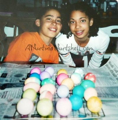 DD-DS easter egg decorating