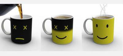 Fab.com temperature changing mug