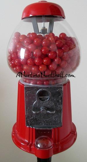 Gimbals cinnamon lava balls candy - king carousel gumball machine